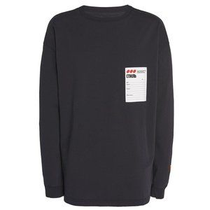 Heron Preston Men's Long Sleeve T-Shirt Fade Black
